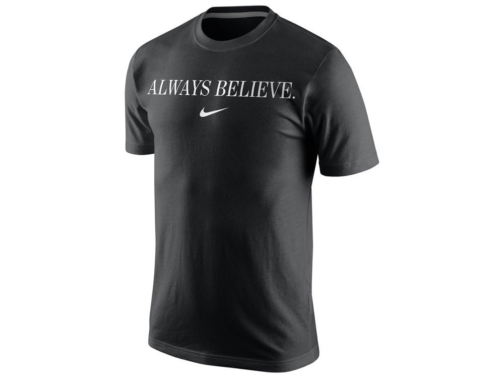 Cleveland Cavaliers LeBron James Nike NBA Men s Champ Always Believe  Celebration T-Shirt  fa09594637e