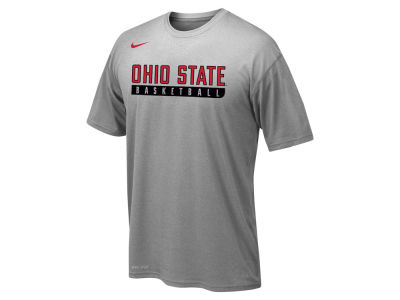 Ohio State Buckeyes Nike NCAA Youth Basketball Legend Practice T-Shirt