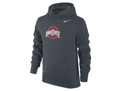 Ohio State Buckeyes Nike NCAA Youth Primary Logo Knock Out Hoodie