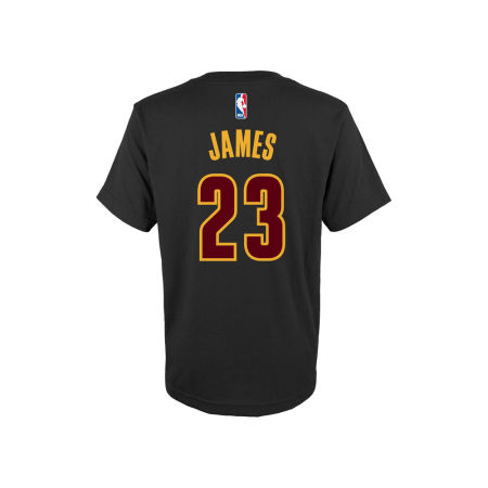 Cleveland Cavaliers LeBron James NBA Youth Name And Number T-Shirt