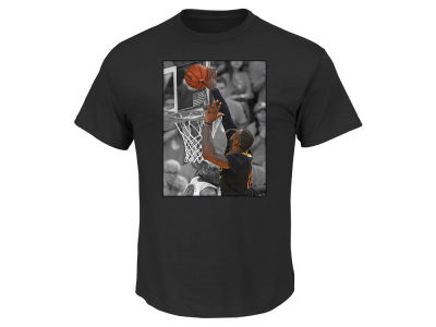 Cleveland Cavaliers LeBron James Majestic NBA Men's The Block T-Shirt