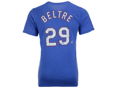 Texas Rangers Adrian Beltre Majestic MLB Men's Triblend Jersey Player T-Shirt