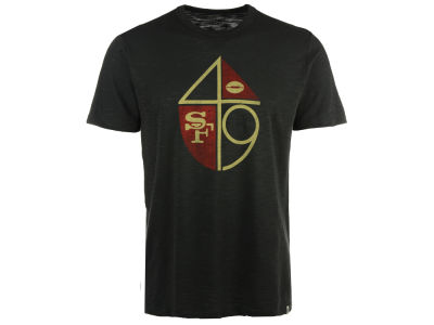 San Francisco 49ers '47 NFL Retro Logo Scrum T-Shirt