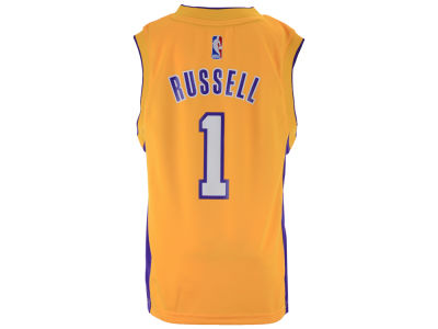 Los Angeles Lakers D'Angelo Russell Youth NBA Revolution 30 Jersey