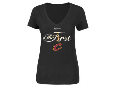Cleveland Cavaliers Majestic NBA Women's The First Champ T-Shirt