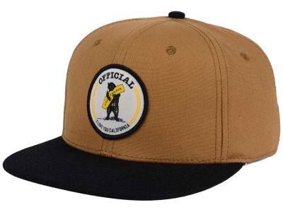 Official Bear Hug Patch Snapback Cap
