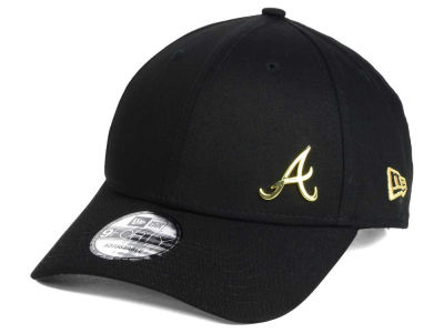 Atlanta Braves New Era MLB O Gold Flawless 9FORTY Cap