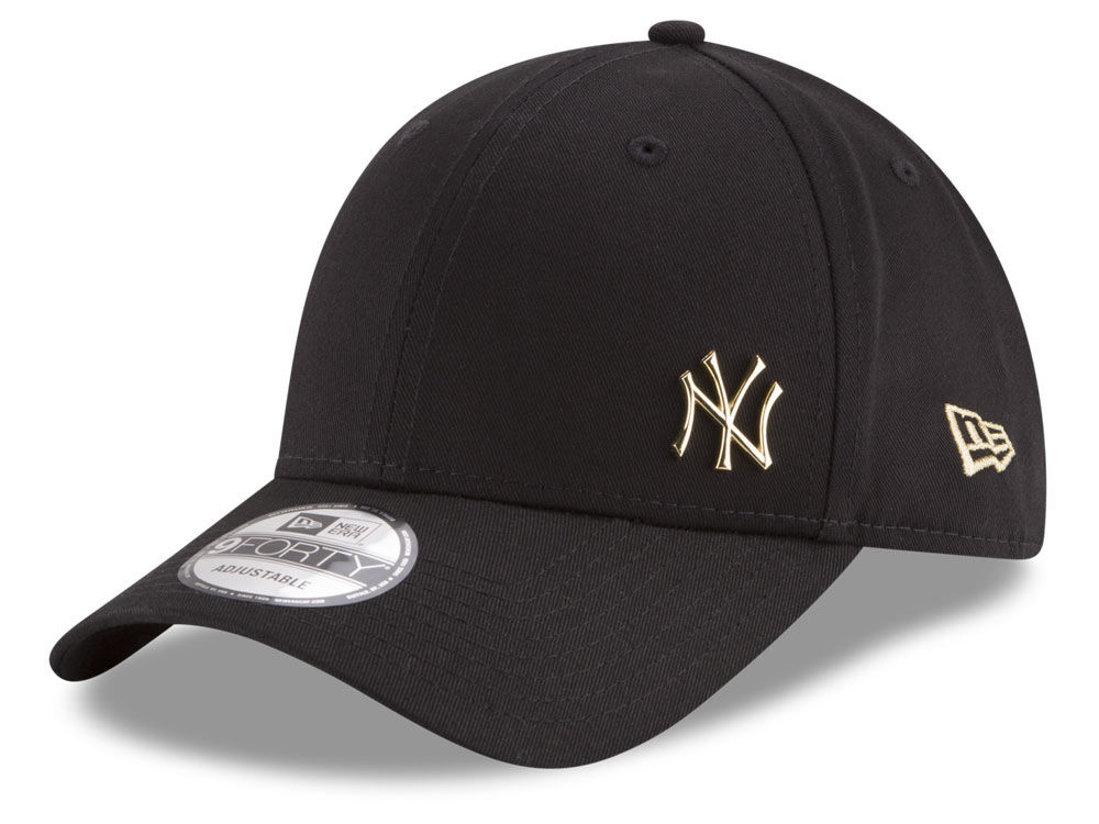 New York Yankees New Era MLB O Gold Flawless 9FORTY Cap  f89cf9db3610
