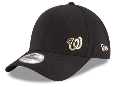 Washington Nationals New Era MLB O Gold Flawless 9FORTY Cap