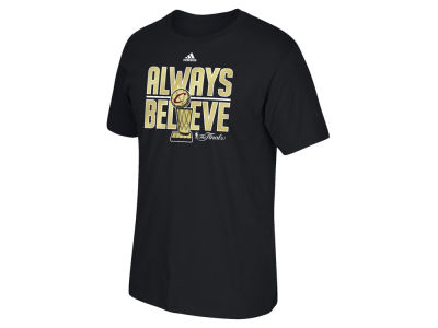 Cleveland Cavaliers adidas NBA Men's Champ Always Believe T-Shirt
