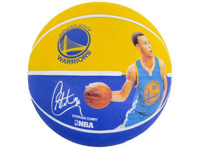 Golden State Warriors Stephen Curry Courtside Ball Size 7 Boxed
