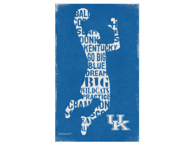 Kentucky Wildcats Canvas Wall Art 14 x 23