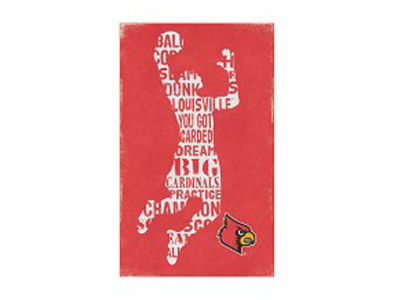Louisville Cardinals Canvas Wall Art 14 x 23
