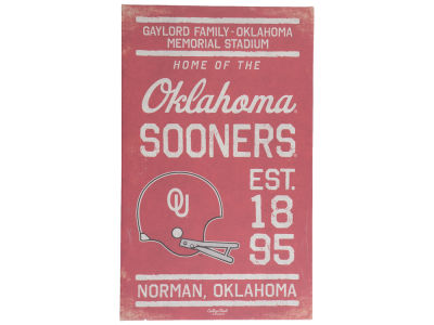 Oklahoma Sooners Canvas Wall Art 14 x 23