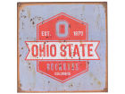 Ohio State Buckeyes Legacy 12x12 Slant Tin Sign Home Office & School Supplies