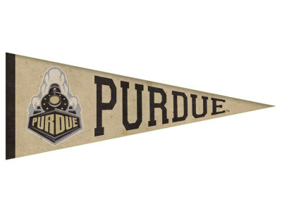 Purdue Boilermakers Varsity Club Canvas Pennant 11.5 x 30