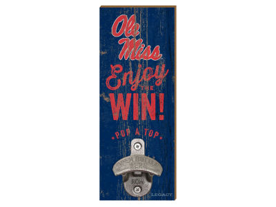 Ole Miss Rebels Wall Mount Bottle Opener