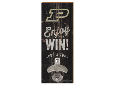Purdue Boilermakers Wall Mount Bottle Opener