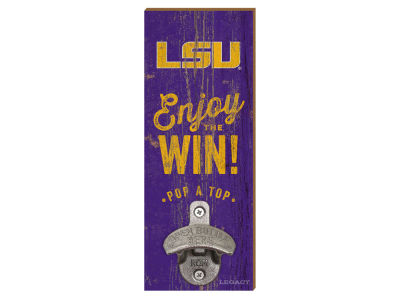 LSU Tigers Wall Mount Bottle Opener