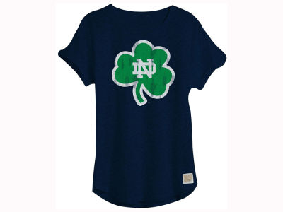 Notre Dame Fighting Irish NCAA Women's Rolled Sleeve T-Shirt