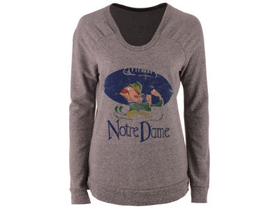 Notre Dame Fighting Irish Retro Brand NCAA Women's Quad Sweatshirt