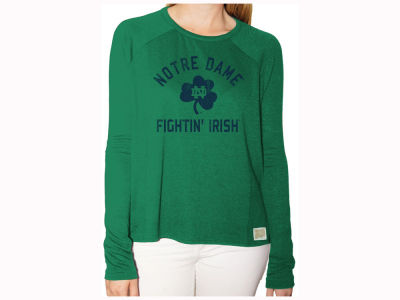 Notre Dame Fighting Irish Retro Brand NCAA Women's Vintage Long Sleeve T-Shirt
