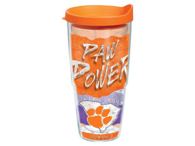 Clemson Tigers 24oz Statement Wrap Tumbler