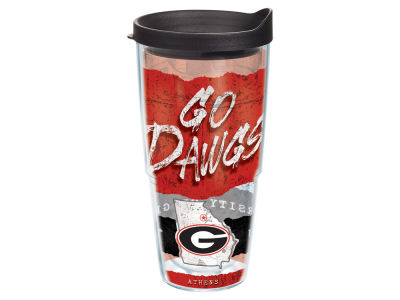 Georgia Bulldogs 24oz Statement Wrap Tumbler