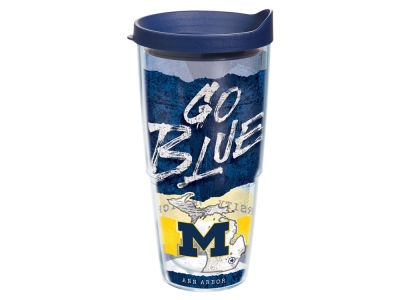 Michigan Wolverines 24oz Statement Wrap Tumbler
