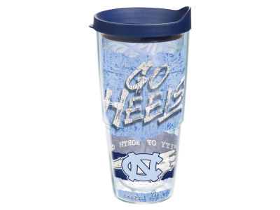 North Carolina Tar Heels 24oz Statement Wrap Tumbler