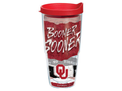 Oklahoma Sooners 24oz Statement Wrap Tumbler