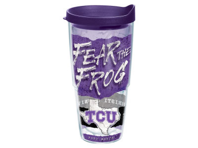 Texas Christian Horned Frogs 24oz Statement Wrap Tumbler