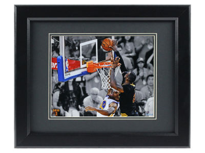 Cleveland Cavaliers Lebron James Block 8x10 Framed Photo