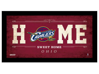 Cleveland Cavaliers Home Sweet Home Framed Sign