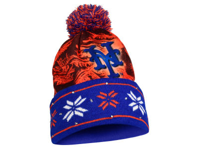 New York Mets Light Up Ugly Sweater Knit