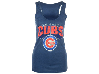 Chicago Cubs 5th & Ocean MLB Women's Big Word Tank