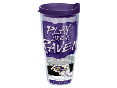 Baltimore Ravens 24oz Statement Wrap Tumbler
