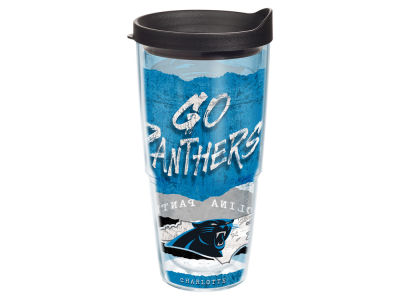 Carolina Panthers 24oz Statement Wrap Tumbler
