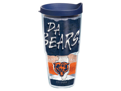 Chicago Bears 24oz Statement Wrap Tumbler