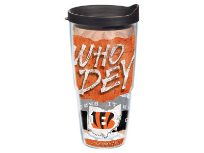 Cincinnati Bengals 24oz Statement Wrap Tumbler