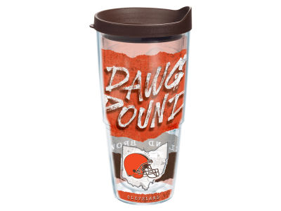 Cleveland Browns 24oz Statement Wrap Tumbler