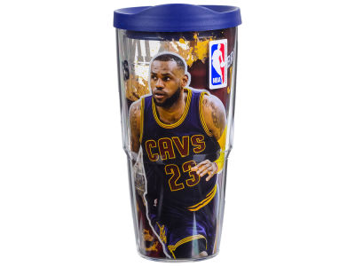 Cleveland Cavaliers LeBron James 24oz Player Wrap Tumbler