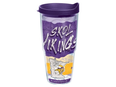 Minnesota Vikings 24oz Statement Wrap Tumbler