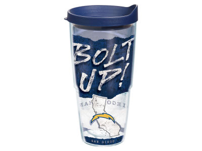 Los Angeles Chargers 24oz Statement Wrap Tumbler