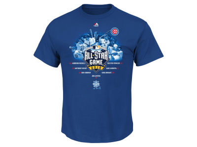 Chicago Cubs MLB Men's 2016 All Star Game Team T-Shirt