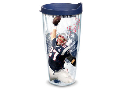 New England Patriots Rob Gronkowski 24oz Player Wrap Tumbler
