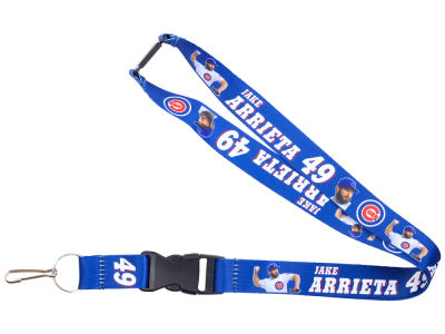 Chicago Cubs Jake Arrieta Player Lanyard