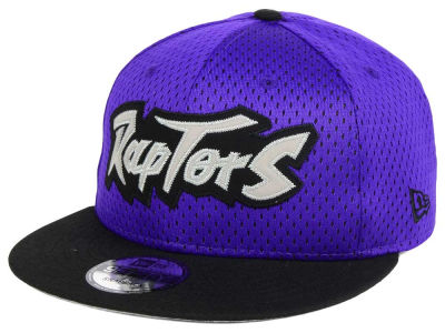 Toronto Raptors New Era NBA Hardwood Classics Tackle Trilled 9FIFTY Snapback Cap