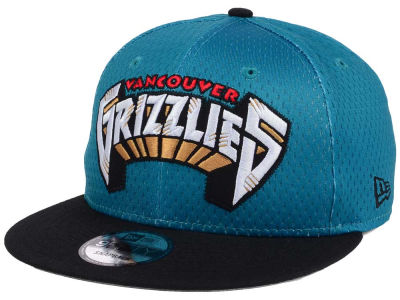 Vancouver Grizzlies New Era NBA Hardwood Classics Tackle Trilled 9FIFTY Snapback Cap