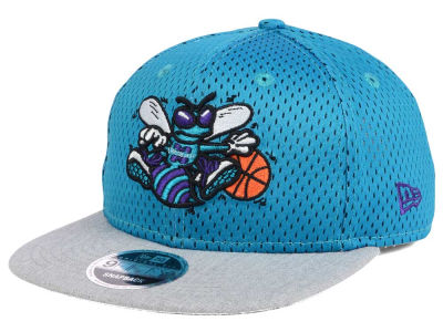 Charlotte Hornets New Era NBA HWC Heather Mesh Hook 9FIFTY Cap